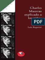 Charles Maurras explicado a los niños / LUIS BUGARINI