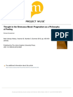 ThoughtInTheStrenuousMoodPragmatismAsAPhilosophyOfFeeling.pdf
