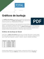 Gráficos de Burbuja - Excel Total