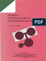 Pedoman Penyelenggaraan dan Pengelolaan Museum 1997.pdf