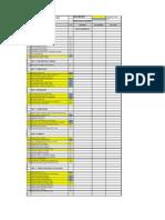 Estructura de Presupuesto Con Actividades Proyecto 2010