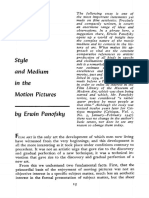 Panofsky Erwin 1934 1966 Style and Medium in the Motion Pictures