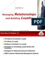 Chapter 12- Managing Relationships and Building Loyalty (1)