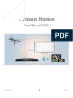 TVman Home User Manual En