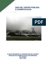 3 Plan de Desarrollo Concertado Del Centro Poblado de Champaccocha 2012 - 2016