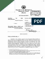People v Dela Cruz and Garcia (Criminal Law Review)