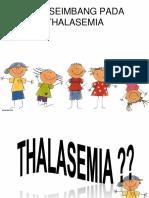 PRESENTASI THALASEMIA