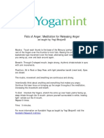 Fists of Anger Meditation for Releasing Anger Kundalini Yoga