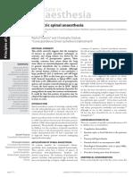 a4500d5939f780fadaf6e74400605899 Paediatric Spinal Anaesthesia