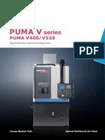 Puma v Series v400 v550 English