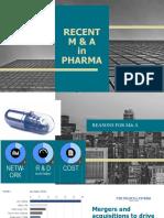 Pharma m&a