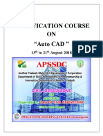 Certification Course Report August 2018