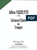 Allen Vizzutti - Advanced Etudes for Trumpet.pdf