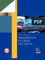 Manual Presupuesto Obras Eléctricas