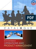 Case Studies on Operations and Project Management