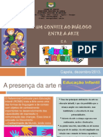 A Presença Da Arte Na Educação Infantil