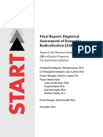 START NIJ EmpiricalAssessmentofDomesticRadicalizationFinalReport Dec2016