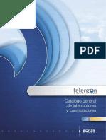 Catálogo General de Interruptores y Conmutadores Telergon