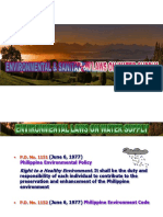 1-Environmental & Sanitation Laws - Lecture