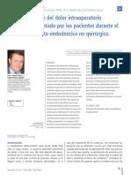 Cientifica Dental-dolor en Endodoncia