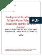 HERETIC ENGINEER ALI MIRZA
