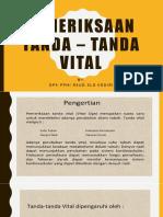 Pemeriksaan TTV Fix