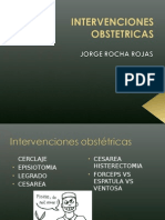 INTERVENCIONES OBSTETRICAS 1