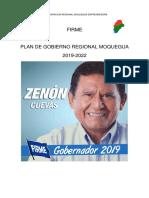 Plan de Gobierno de Zenon Gregorio Cuevas Pare