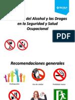 Alcohol y drogas seguridad y salud y ocupacional
