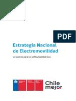 Estrategia Nacional de Electromovilidad de Chile
