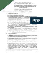 Formato de Reporte de Préstamos Estipulados en Moneda Legal