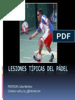 3.Lesiones t+¡picas del p+ídel