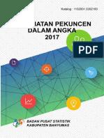 Kecamatan Pekuncen Dalam Angka 2017