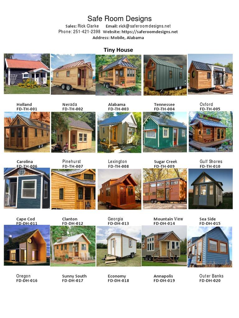 Safe Room Design: Tiny House 2019 Catalog