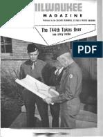 744th ROB Milwaukee Magazine May 1944