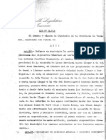 Ley de Municipalidad de Tafi Viejo