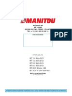 Dumarent-man USM Manitou MT732 - MT932 - MT1030 - FR