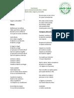 Cancionero- Comparsa Roe v. Wade:20 Enero 2019