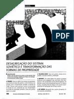 BERNARDO, João. Desagregação do sistema soviético e transformação das formas de propriedade.pdf