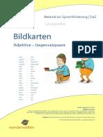 SF09a DaZ Material Grundschule Adjektive