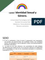 Taller Identidad Sexual y Género. Universidades (1)