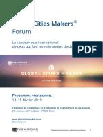 GlobalCitiesMakersForum Programme FR 180119 2