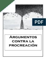 Argumentos Contra La Procreacic3b3n
