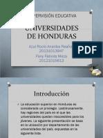 Universidades de Honduras