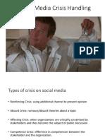 social media crisis handling
