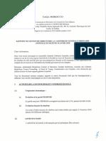 TAQA Morocco AGO Rapport de Gestion