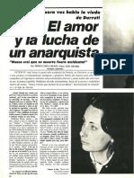 El amor y la lucha anarquista