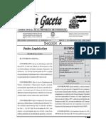 Leyes de cotizaciones actualizadas vigencia 2019