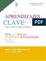 Gua Educacin Preescolar
