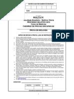 Medicina Prova Biologia.pdf Ano2019